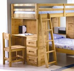 twin beds made into loft bed | twin loft bed with storage
