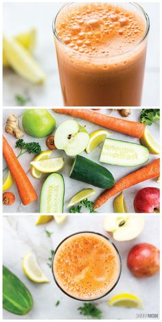 Morning Zinger Juice: This recipe will start your day in all the right ways!