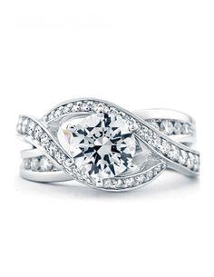 I love wedding rings :)