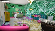 Roomstyler.com - Birdie Bed and Bathroom