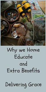 delivering grace: Why we home educate and extra benefits