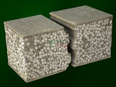1000 images about foam concrete other innovative for Cement foam blocks