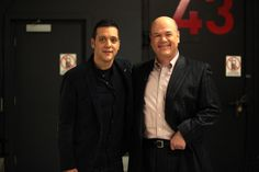 with Larry Miller...