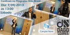 Jacarezinhense Dago Soares sábado na Canção Nova - http://projac.com.br/noticias/jacarezinhense-dago-soares-sabado-na-cancao-nova.html