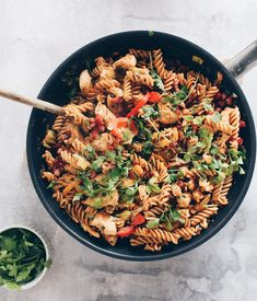 Pasta Med Bacon, A Food, Food And Drink, Beetroot, Italian Recipes, Food Inspiration, Healthy Eating, Healthy Food, Food Porn