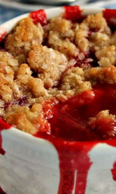 Fresh Strawberry Cobbler. This will be so delicious when our next strawberry crop comes in!