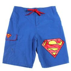 DC Comics Superman Logo Swim Trunks #fathers Day Gift (Amazon) $29.50