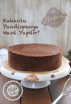 How to make cocoa sponge cake? Fondant Cakes, Cupcake Cakes, Cupcakes, Cocoa Recipes, Sweet Recipes, Delicious Chocolate, Chocolate Desserts, Mousse Au Chocolat Torte, Vanilla