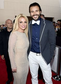 Pin for Later: The Best Pictures From the Billboard Music Awards Britney Spears and Charlie Ebersol