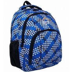 Small Backpack Rucksack Ladies Womens Girls School Pack Bag Blue Printed Pattern School Pack, Girls School, Small Backpack, Rucksack Backpack, Blue Bags, Outdoor Gear, Backpacks, Printed, Lady