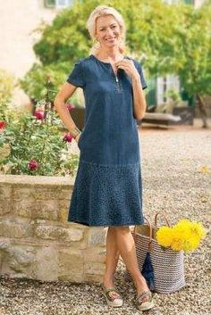 Soft Surroundings Windward Tencel® Dress