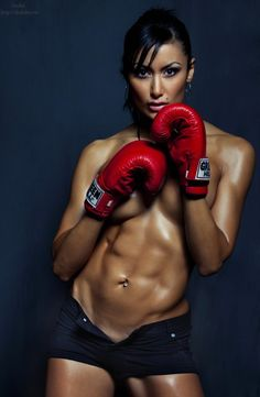 4 Core Exercises For Killer Abs - Fitness and Power Model Training, Boxing Training, Modelos Fitness, Boxing Girl, Women Boxing, Mma Boxing, Muscle Girls, Gym Girls, Fit Chicks