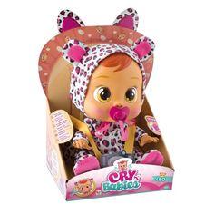 A boneca Cry Babies da Multikids é o que faltava na brincadeira das crianças. Ela não fica sem sua chupeta e se a garota não der o choro é garantido. Brincar irá ficar muito mais divertido com a boneca Cry Babies Leo da Multikids!   As pequenas mamães vão adorar e se emocionar ao cuidar desta fofinha! São 3 personagens para colecionar: Leo, Lala e Coney. Veja nosso produto! Se gostar, pode nos ajudar pinando-o em algum de seus painéis :)