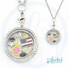 Perfect Locket For An Army Wife. Not Sold In Stores! Get 70% OFF + FREE Shipping Today! Material: Stainless Steel Locket and Chain Locket Size: 30 mm Chain Size 30 Inch **All Charms In Picture Include