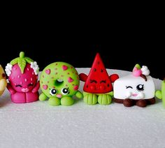 Fondant Shopkins Cake Topper  Shopkins by SugarDecorByLetty