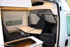 Citroen Jumper L3 H2 2013 por FURGO LIFE CAMPER Van Conversion Interior, Camper Van Conversion Diy, Custom Camper Vans, Fiat Ducato, Campervan Interior, Motorhome, Van Camping, Tiny Living, Van Life