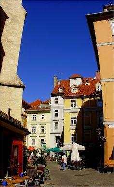 UNESCO World Heritage Site.  City of Graz. historic center.  Franziskanerplatz  Graz, AUSTRIA  http://www.travelandtransitions.com/austria-travel/