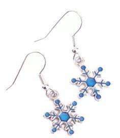 cute snowflake earrings