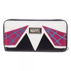 Marvel Spider-Gwen Jrs. Zip Around Wallet