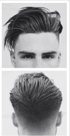 Hair style for gentlemens