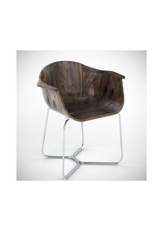 Walnut Shell Seat by Tony O'Neill Design