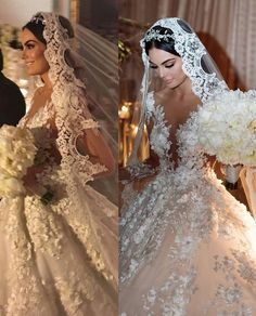 dress with lace and rhinestones, will stylize your figure! Stunning Wedding Dresses, Dream Wedding Dresses, Elegant Wedding, Wedding Bride, Bridal Dresses, Weeding Dress, Wedding Dress Train, Lace Mermaid Wedding Dress, Lace Dress
