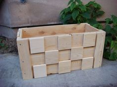 Wood Planter -- Flower Box --Vegetable Garden 24 Long x 12 Wide x 12 Deep planter for vegetables or plants or flowers Cedar Wood in these