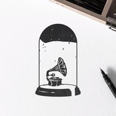 I animated a drawing from a couple of years ago. I'd like to know what you guys think in the comments below! I'm available for tattoo design, custom illustrations and branding, contact me via DM or email :) Art And Illustration, Black And White Illustration, Penguin Illustration, Sketchbook Drawings, Easy Drawings, Drawing Sketches, Drawing Ideas, Stylo Art, Blog Art