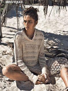 Andreea Diaconu por Lachlan Bailey para Vogue Paris Maio 2015 [Editorial]