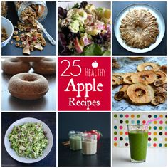 25 Healthy Apple Recipes | taste love and nourish ~ Apples are their most delicious in the fall!  Join me on a day of apple picking and get a  collection of 25 healthy and delicious apple recipes from some top food bloggers!