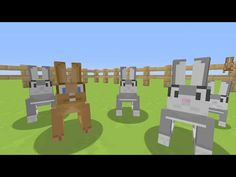 Minecraft (Xbox360/PS3) - TU31 Update! - RABBITS In All Textures! - YouTube