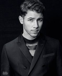 Nick Jonas for Icon, March 2015