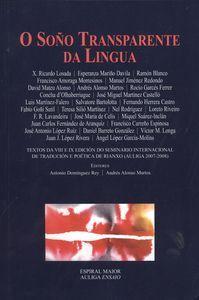 As presentes Actas do Seminario Internacional de Tradución e Poética de Rianxo (AULIGA 2007-2008) traen o recordo do fundador da ciencia lingüística en España, o galego Ángel Mª Amor Ruibal, filósofo orixinal ademais de teólogo da xeración do 98