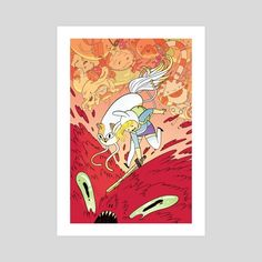 Fionna and Cake by Rebecca Mock