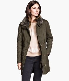 Lined Parka | Product Detail | H&M