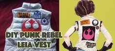 Punk Princess Leia Rebel Vest DIY