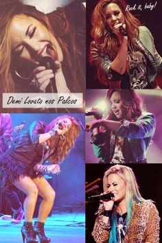 Estilo das Famosas -Demi Lovato Show/ Concert - Estilo da Demi Lovato - Demi Lovato's Style - Looks Demi Lovato  http://viroutendencia.com/2014/04/21/como-copiar-o-estilo-da-demi-lovato/