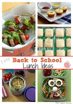 Back to school, Back to school lunch, Easy Back to school lunch