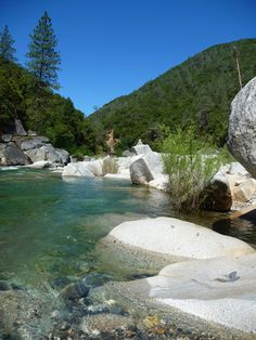 This Family Friendly Swimming Hole Off The South Fork Of The Yuba River Is Still A Relative