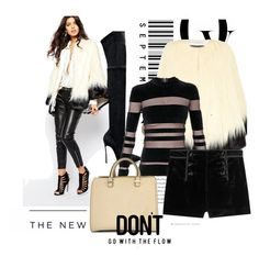 """""""ARS 80: Don't Go with the Flow"""" by antonroberstyle on Polyvore featuring Casadei, Unreal Fur, Balmain, Emilio Pucci, Victoria Beckham, Envi, American Eagle Outfitters, Boots, bag and balmain"""