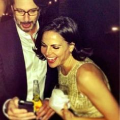 Fred & Lana (wonder what she is laughing at).