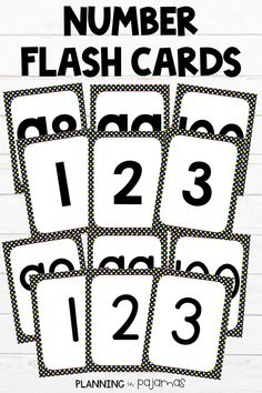 LOVE these Number Flash Cards PERFECT for number recognition, in a black and bright polka dot theme! Love that there are 2 font options - could use these as a matching/memory game, class decor, so many possibilities With Letter Flash Cards to match! Kindergarten Flash Cards, Kindergarten Classroom, Number Flashcards, Number Worksheets, Polka Dot Theme, Polka Dots, Classroom Posters, Classroom Decor, Polka Dot Classroom