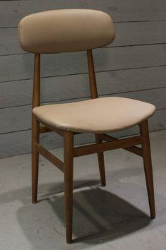 sedia + sgabello anni 60 di ERAMECCANICA su Etsy