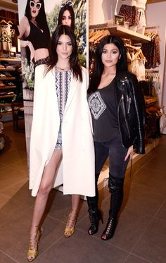 Kendall & Kylie Jenner - Pacsun 2015 Summer Collection Meet and Greet, May 30, 2015.