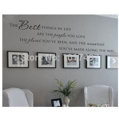 vinyl wall decals love memories quote home art decalg living room quotes stickers carameloffers