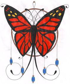 Butterfly Dreamcatcher Tattoo Design By Themsgothgirl On DeviantArt