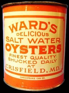 Love the east coast oyster tins?