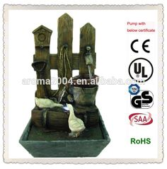 craft ideas home ornament fountain duck, View fountain duck, AROMA Product Details from Xiamen Aroma Trade Co., Limited on Alibaba.com