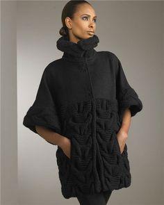 вязаное пальто спицами - Поиск в Google