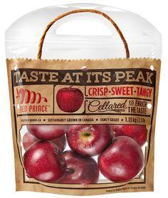 Functional Produce Packaging : Apple Packaging